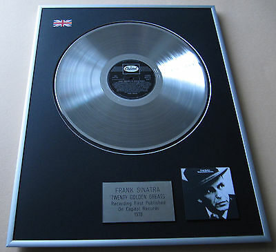 FRANK SINATRA Twenty Golden Greats LP Platinum Presentation Disc