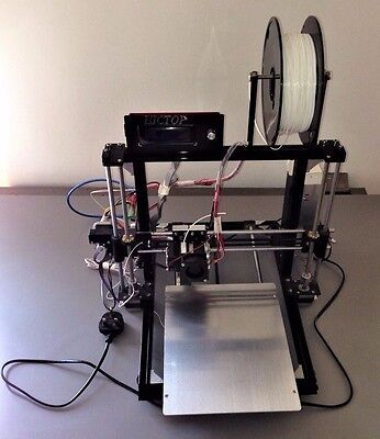 HICTOP 3D Printer Prusa I3 24V, Auto Leveling. Assembled. Excellent condition.