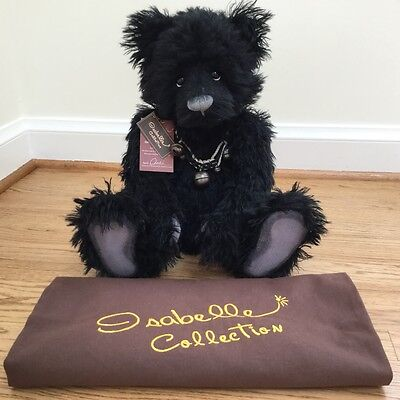 Charlie Bears Isabelle Collection Mr. Pickwick Mohair Retired Limited Of 300