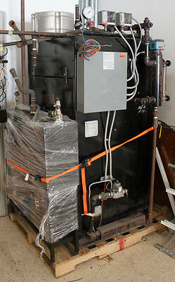 Boilers 9.5 HP Natural Gas Fired Steam Boiler & Return tank and Pump Excellence