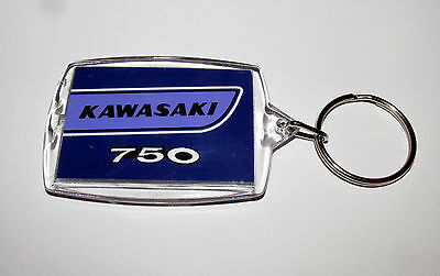 Colour Matched Kawasaki H2 H2A H2B H2C 750 Triple Limited Edition Key Rings
