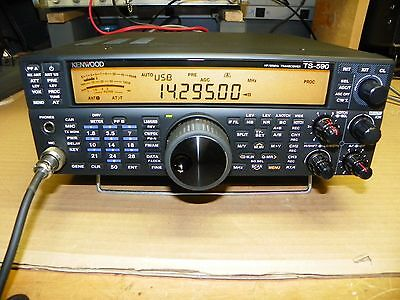 Kenwood TS-590SG HF/50MHz Transceiver with Manual  Serial # B4C00224