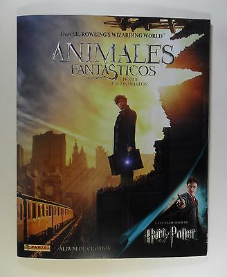 Album  Reversible Harry  Potter Animales Fantasticos +240 Cromos-Completo-Panini