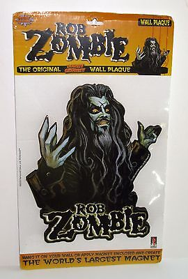 Rob Zombie Magnet Original Funky Chunky Wall Plaque Decor 10.5 Inch 1999 NEW