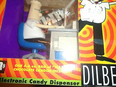 M&M's Electronic Candy Dispenser Dilbert 1998 Collectible Vintage