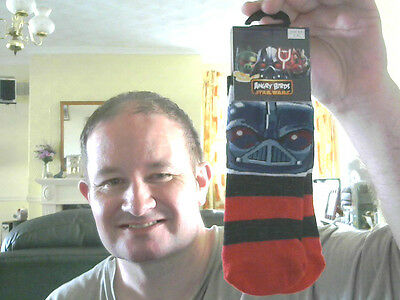 Angry Birds Disney Star Wars Boy's Socks Size 6-8.5 Great Gift Free Uk Post