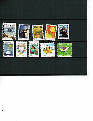 CANADA  1996+  SEMI POSTAL STAMPS to DATE     USED   BK 451-A