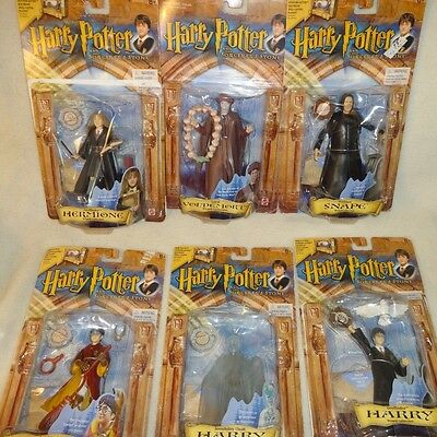 Harry Potter Lot of 5 Figures Hermione Snape Quiddich Voldemort Invisible