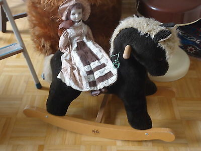 ** CLEARANCE** Vintage German 1960s Rocking Horse Toy Display Prop GyGy BUY ME!
