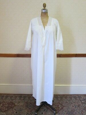 Victorian short sleeve night dress/nightgown #4