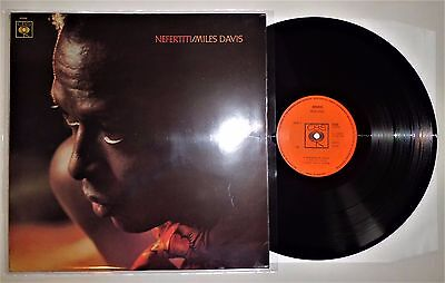 MILES DAVIS ~NEFERTITI~ 1968 1st Press UK! LP ALBUM~ CBS 63248 A-1/B-1 EX/EX