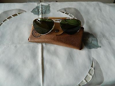 True Vintage Rare Ray-Ban by Bausch & Lomb Aviator 58 mm OUTDOORSMAN 10 k GF RB