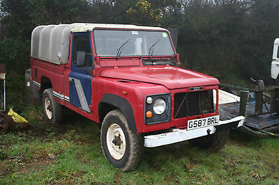 1989 Landrover 110 Hcpu - Scrap Chassis & Id/v5