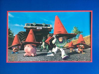 Toy Story 2 - RARE 17x14 Lithograph from Disney Store Collection - Buzz & Woody