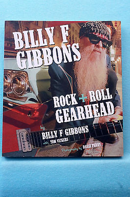 Billy F Gibbons - Rock + Roll Gearhead - Softbound