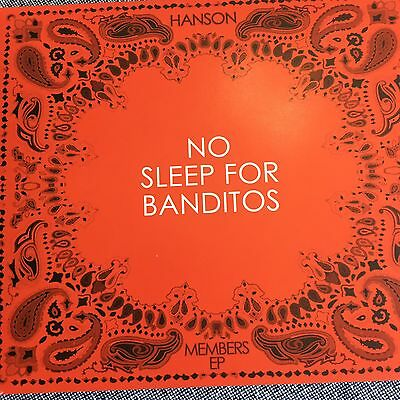 Hanson Rare No Sleep For Banditos EP CD