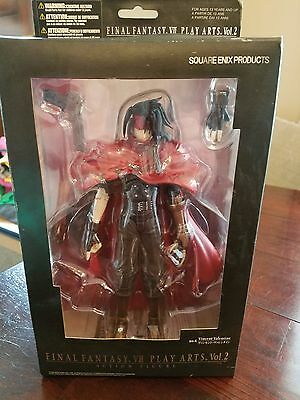 Final Fantasy Vii Play Arts Vol 2 No. 6 Vincent Valentine Square Enix Anime