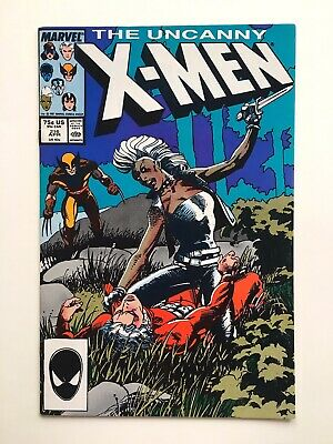 NM The Uncanny X-Men #216 / Unpressed / Barry Windsor-Smith Cover