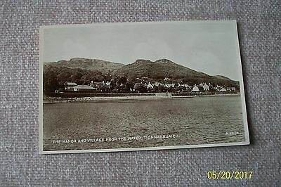 Postcard--  The Manor And Village From The Water , Tighnabruaich