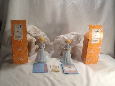 """2 New in Factory Box and wrapping Enesco """"Growing Up Girls"""" Age 6 Figurines"""