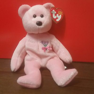 Ty Beanie Babies MUM the Bear, with 2001 CANADIAN Tags