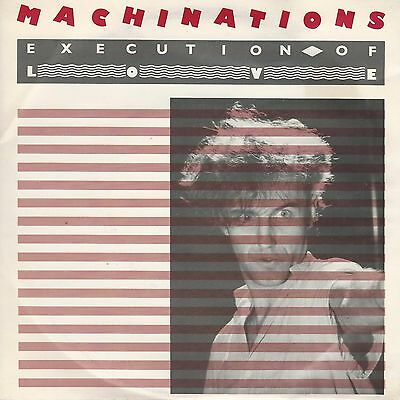 "Machinations - Execution Of Love - Oz New Wave - 7"" Vinyl Record - Now Playing"
