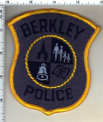 Berkley Police (Michigan) Shoulder Patch - new from the 1980's