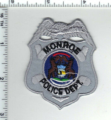 Monroe Police (Michigan) Shirt/Jacket Patch - new from the 1980's
