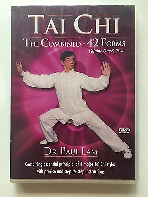 Tai Chi - The Combined 42 Forms - Volume One & Two - Dr Paul Lam DVD