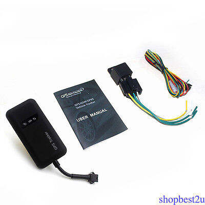 GT02A Car Motorcycle GPS Tracker Locator GSM GPRS Tracking System TCP / IP