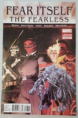Fear Itself: The Fearless #8 of 12 2012 Marvel Comics VF Flat Shipping