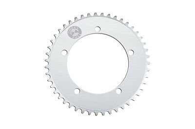 AngelFall Bicycle Chainring BCD130 Silver 49T fits Sugino, Sram, Shimano