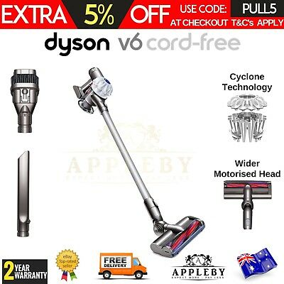 Dyson V6 Slim Handstick Vacuum Cleaner Stick Cordless Handheld Carpet Cleaning