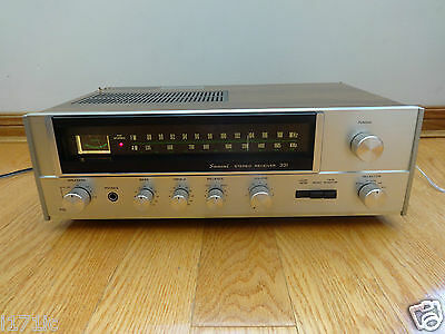 Sansui 331 FM/AM Stereo Receiver 1976 Japan TESTED 100% Works Great!