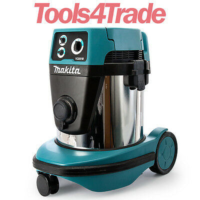 Makita VC2201MX1 110V Dust Extractor / Vacuum Cleaner 22L M Class Wet / Dry