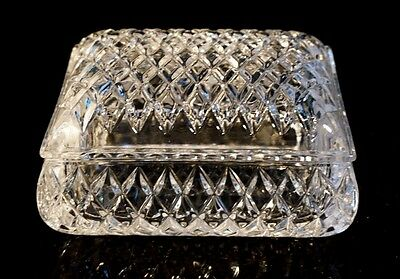 Beautiful Heavy Crystal Rectangular Box