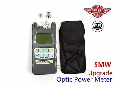Fiber Optical power meter -70~+10dBm Cable Tester & Visual Fault Locator 2in1