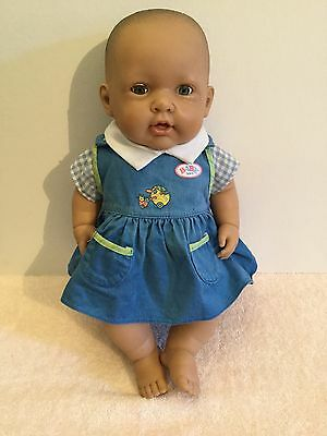 Berenguer Baby Doll Drink & Wet Talk Sing Suck & Burp Very Realistic 40cm Tall