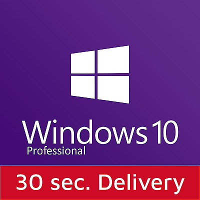 Windows 10 Professional Win 10 Pro 32/64 Bits Product Key License