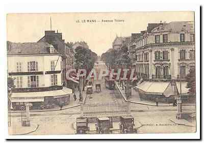 Le Mans CPA Avenue Thiers (animee tramway)