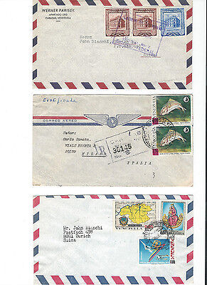 30 covers from Venezuela to .... see scans and details.