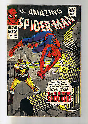 THE AMAZING SPIDER-MAN #46 - 1st appearance of the Shocker - Marvel Comics 1967