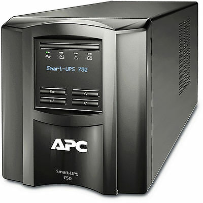 APC Smart UPS 750Va 500Watt LCD - SMT750i - APC Battery OK -  Warranty 02-2018