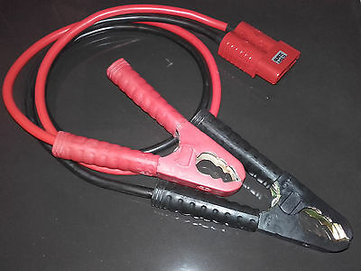 2m x 25mm² 175Amp Jump Leads Red SB175 Anderson Connector Heavy Duty Clamps