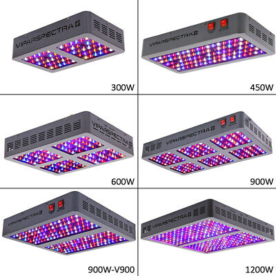 VIPARSPECTRA 225W 300W 450W 600W 900W 1200W LED Grow Light Full Spectrum