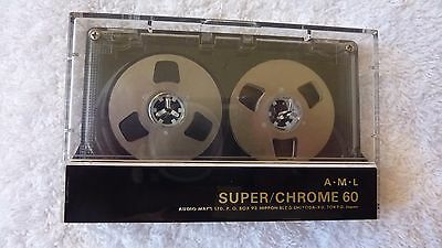 A.M.L. Super/Chrome 60 Reel to Reel audio cassette tape