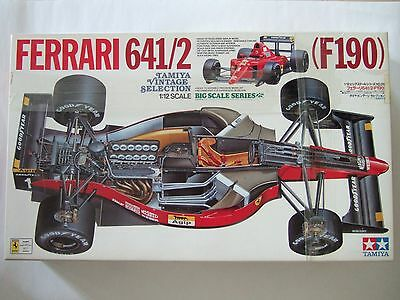 TAMIYA Ferrari 641/2 (F190) 1/12 Big Scale Series Model Kit  #12027 Unopened