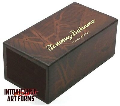 Tommy Bahama Tiki Design Cigar Jumbo Pack Box Wooden Matches *new In Box*