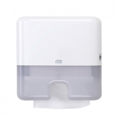 Tork 552120 Elevation Mini Xpress Interfold-Multifold Hand Towel Dispenser White