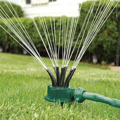 Rotating Sprinkler Noodle Head Water Sprinkler Garden Watering Sprinkler GT